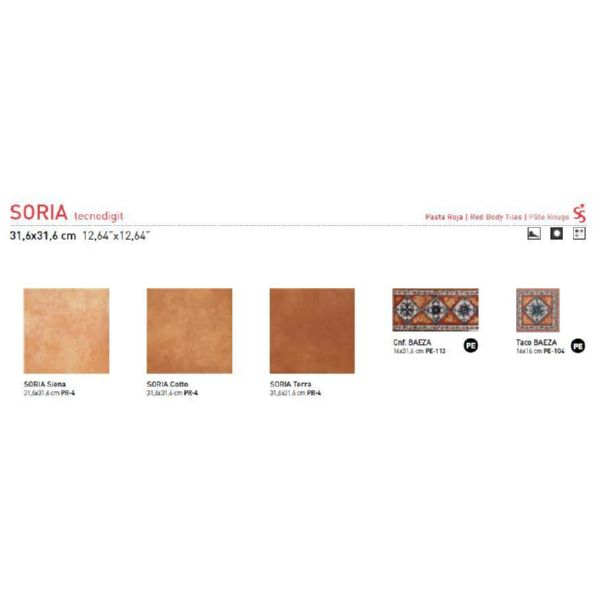 GRES SORIA COTTO 31*31