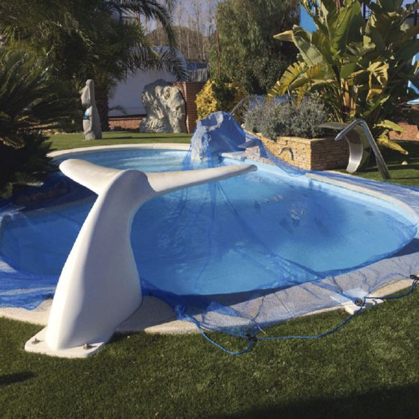 Protector piscinas LEAF POOL COVER  6X10 M